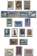 CYPRUS, Commemoratives, Yv 290/96, 304/06, 338/41, 343, 345, 348/50, ** MNH, F/VF, Cat. € 32 - Cyprus (...-1960)