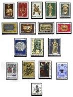 CYPRUS, Definitives, Yv 436/47, 451/54, 458, ** MNH, F/VF, Cat. € 22 - Cyprus (...-1960)