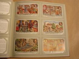 BEVORDERING VAN DE ARBEID DOOR GROTE BELGEN Liebig Série Reeks 6 Chromos Nederlandse Taal Trading Cards Chromo - Liebig