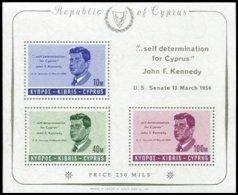 CYPRUS, Blocks, Yv 3, ** MNH, F/VF - Cyprus (...-1960)