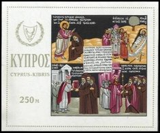 CYPRUS, Blocks, Yv 4, ** MNH, F/VF - Cyprus (...-1960)