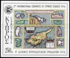 CYPRUS, Blocks, Yv 9, ** MNH, F/VF - Cyprus (...-1960)