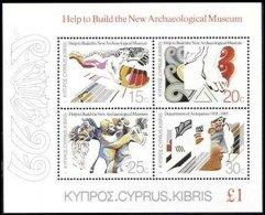 CYPRUS, Blocks, Yv 13, ** MNH, F/VF, Cat. € 25 - Cyprus (...-1960)