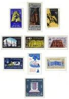 EGYPT, Commemoratives, Yv 566/72, Av 92/94, ** MNH, F/VF, Cat. € 16 - Égypte