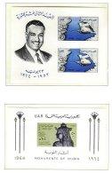 EGYPT, Blocks, Yv 15/16, ** MNH, F/VF, Cat. € 17 - Egipto