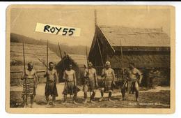 Maori Warriors N.z. Guerrieri Maori N.z - Costumi