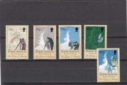 Territorio Antartico Britanico Nº 281 Al 285 - Territorio Antártico Británico  (BAT)