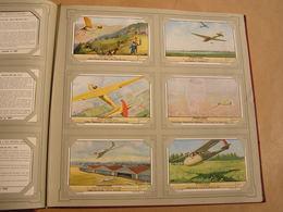 ZWEEFVLIEGEN Vol à Voile  Liebig Série Reeks 6 Chromos Nederlandse Taal Trading Cards Chromo - Liebig