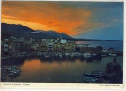 CYPRUS SUNSET OVER KYRENIA - Cyprus