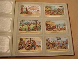 DE BOEKANIERS Les Boucaniers   Liebig Série Reeks 6 Chromos Nederlandse Taal Trading Cards Chromo - Liebig