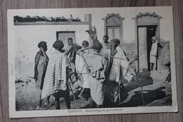 DJIBOUTI - MARCHANDAGE DE PEAUX BRUTES - Gibuti