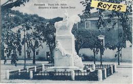 Toscana-lucca-pietrasanta Piazza Dello Statuto Monumento Ai Caduti Animata Veduta Anni 20 - Italia