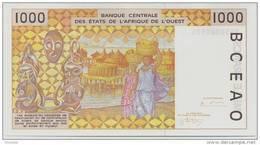 WEST AFRICAN STATES P. 711Ke 1000 F 1995 UNC - Senegal