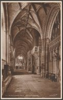 The North Choir Aisle, Ely Cathedral, Cambridgeshire, C.1930 - Walter Scott RP Postcard - Ely