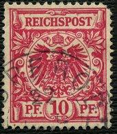 BRAUNSCHWEIG Ca. 1896, NACHV. STPL BISPERODE AUF DR 47, SELTENER STEMPEL + 50,- - Braunschweig