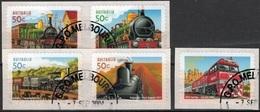 Australie Mi 2361,2365 Trains Gestempeld Fine Used - Gebruikt