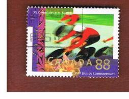 CANADA - SG 1594 - 1994 COMMONWEALTH GAMES: CYCLING  -  USED - 1952-.... Regno Di Elizabeth II