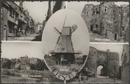 Multiview, Rye, Sussex, 1962 - Shoesmith & Etheridge RP Postcard - Rye