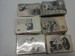 Lot De 1080 Cartes Bergeret Dont Séries Completes - 500 Postcards Min.