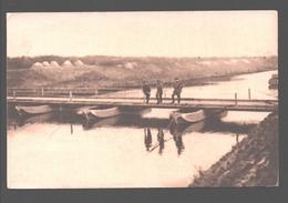 Pontage - Pont Terminé - Bruggenbouw / Overbrugging - Genie Troepen / Troupes De Génie - édit. Maison Bouvier, Dampremy - Materiale