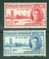 Somaliland Protectorate: 1946   Victory      MH - Somaliland (Protectorate ...-1959)