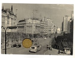 Belgrado Beograd Terazije -  Viaggiata 1959 - Serbia