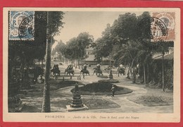 CPA: Cambodge - Pnom-Penh - Jardin De La Ville (Editeur Nadal) - Cambodia