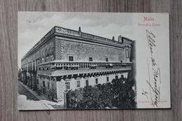 MALTA - GOVERNOR'S PALACE - Malte
