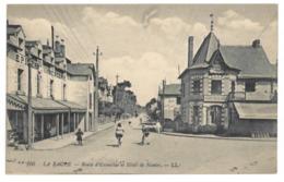 44 La Baule, Route D'Escoublac Et Hotel De Nantes (A4p42) - La Baule-Escoublac