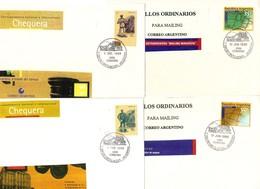 Argentina FDC Posta Ordinaria - FDC