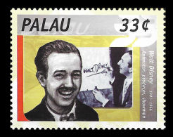 Palau Walt Disney Cinema Cartoon 1v Stamp MNH - Non Classificati