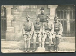 Carte Photo - Militaires - Characters