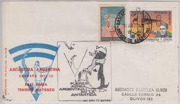 Argentina 1972 Base Aerea Teniente Matienzo  Ca 20 Oct 72 Cover (40082) - Postzegels