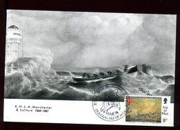 Île De Man - Carte Maximum 1974 - Bateau - Man (Ile De)
