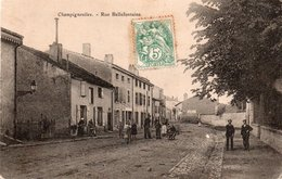 CHAMPIGNEULLES-54-RUE BELLEFONTAINE- 1907- - Other Municipalities