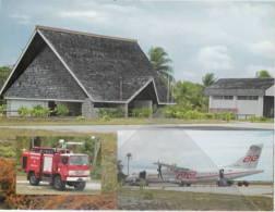 Ait Thaiti ATR-42 Australia Mataiva Airport French Polynesia Airport Tuamotu Islands Airport Fire Truck - 1946-....: Moderne