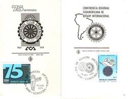 Argentina FDC Rotary International E Automobile Club - FDC