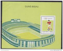 Guiné-Bissau Guinea Guinée Bissau 1996 Soccer Football Jeux Olympiques Olympic Games Olympia Atlanta Mi. Bl. 297 MNH ** - Guinée-Bissau