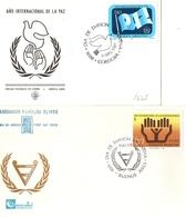 Argentina FDC Anno Internazionale Della Pace E Dei Disabili - FDC