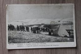 SERBIE - ANGLAIS RETOUR DES TRANCHEES - Serbie