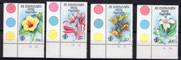 1986 - AUSERE SEYCHELLES - Mi. Nr. 124/127 - NH - (UP.207.34) - Seychelles (1976-...)