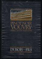 Etiquette De Vin // Pinot Noir De Vouvry, Valais, Suisse - Labels