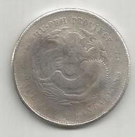 Cina, Impero, 1895-1905, Hupeh, 50 C., Weight 10,78 Gr. - Cina