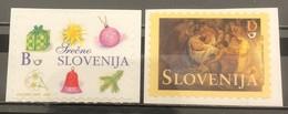 Slovenia, 2003, Mi: 449/50 (MNH) - Navidad