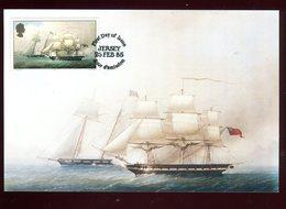 Jersey - Carte Maximum 1985 - Bateau - Jersey