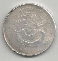 Cina, Impero, 1895-1905, Hupeh, 50 C., Weight 11,09 Gr. - Chine