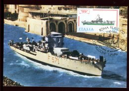Italie - Carte Maximum 1980 - Bateau - Maximum Cards