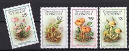 1986 - GRENADINE OF ST.VINCENT - Mi. Nr. 493/496 - NH - (UP.207.34) - St.Vincent E Grenadine