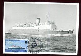 Guernesey - Carte Maximum 1973 - Bateau - Guernsey
