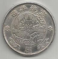 Cina, 1910, 1 Dollar Trade, Weight 20,51 Gr. - Cina